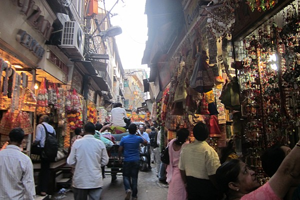 The markets of Old Delhi